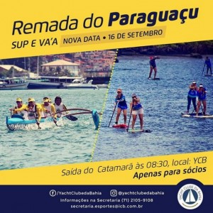 Remada do Paraguaçu - SUP e VA'A